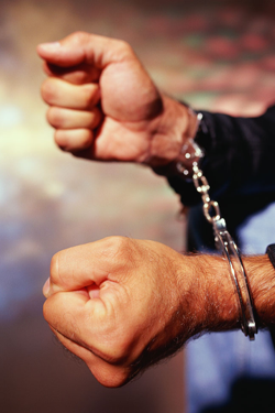 Areas of Practice Criminal Misdemeanor Handcuffs